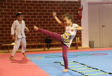 Dvije karate skupine odradile jedan od posljednjih treninga uoči božićne stanke