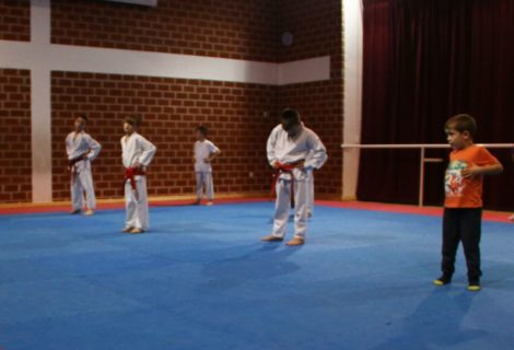 Mladi karatisti na još jednom treningu pokazali raskoš talenta