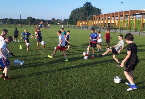 Još jedan vrući ljetni trening za mladiće iz NK Graničar Đurđevac