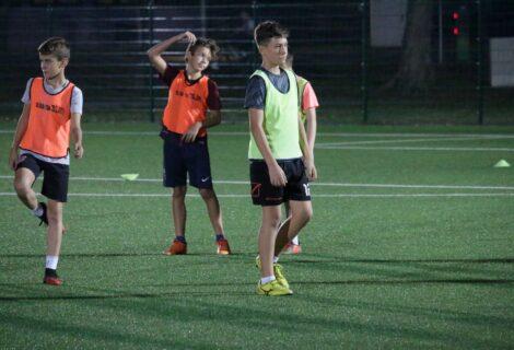 Mladići đurđevačkog Graničara i dalje uporno rade na poboljšanju nogometnih vještina