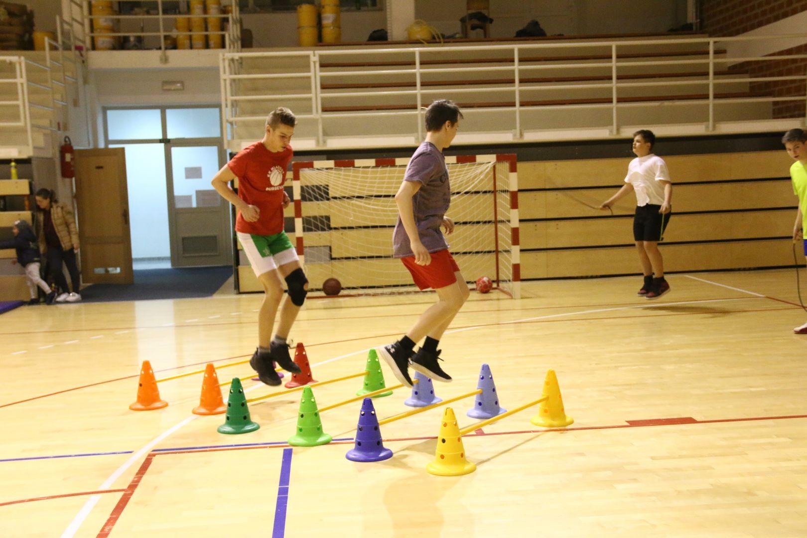 Košarkaše nade đurđevačke Mladosti pumpale snagu i namještale nišan uoči novih izazova