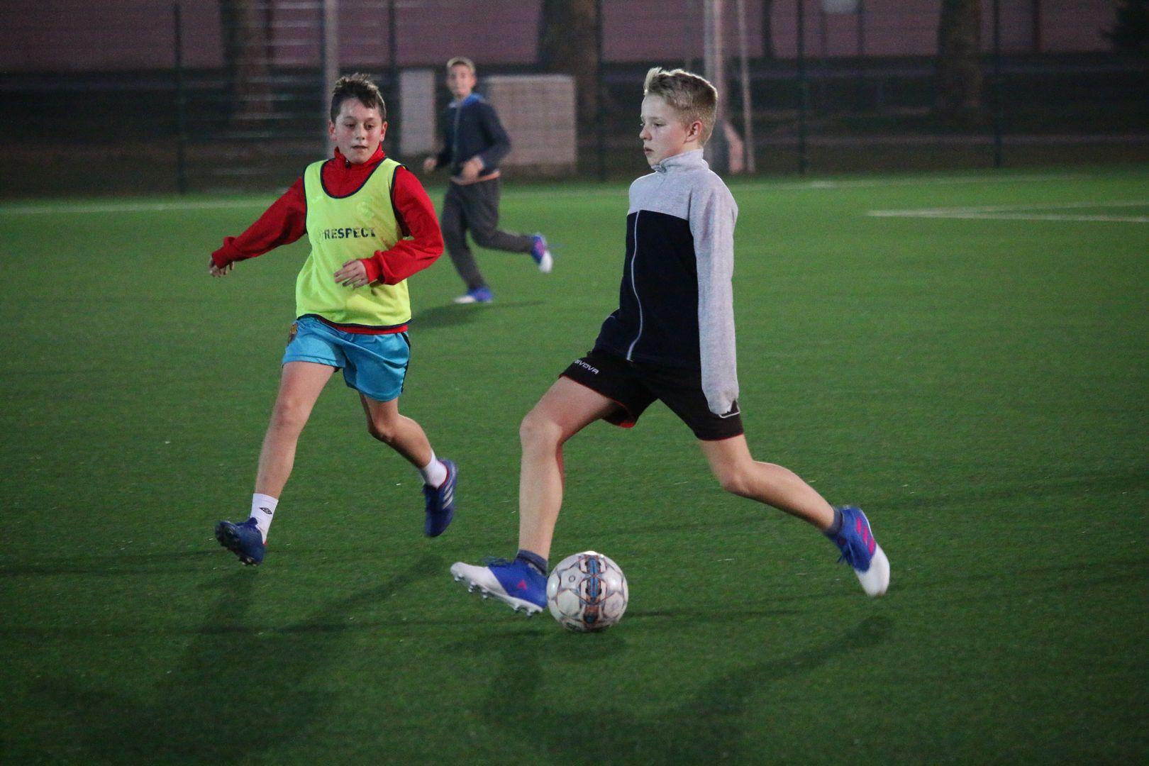 Igra na skraćenom terenu glavni dio prošlotjednog treninga U-15 nogometaša Graničara
