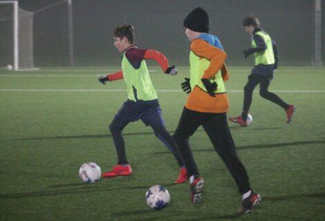 Mladi nogometaši đurđevačkog Graničara uvježbavali vođenje lopte